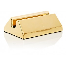 El Casco Business Card Holder Gold