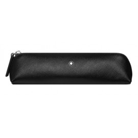 Sartorial 2 Pen Pouch zip top black