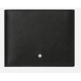 Sartorial Wallet Black 6cc 113215