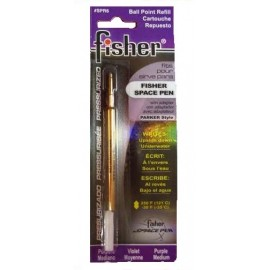 Fisher Purple Ballpen Refill